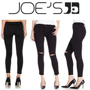 Joe's Jeans Flawless Finn Destroyed Ankle Jeans